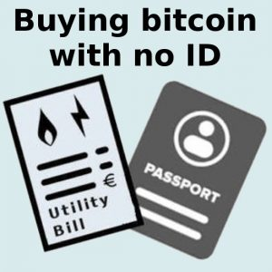 Buying Bitcoin Without Revealing Your Identity in 2019